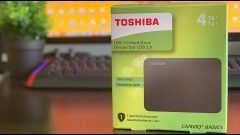 Review Disco Duro Externo 4 TB Toshiba Canvio Basic