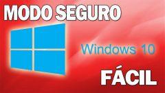 Como iniciar sesión en modo seguro en Windows 10 Fácilmente