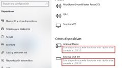 Windows reconoce USB 3.0 como USB 2.0