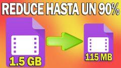 Reducir peso de Video sin Perder Calidad