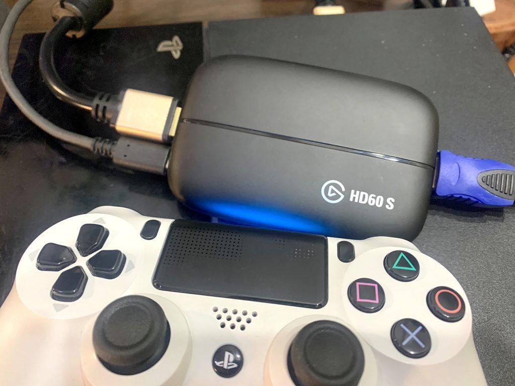 grabar a 1080p a 60 fps capturadora elgato hd60 s ps4