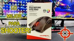 Mouse HyperX Pulsefire FPS Pro | Unboxing / Review