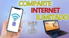 COMPARTE SIN RESTRICCIONES TU INTERNET ILIMITADO – Compartir Datos Ilimitados Cable y WiFi