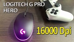 Logitech G Pro Hero 16000 Dpi Unboxing / review