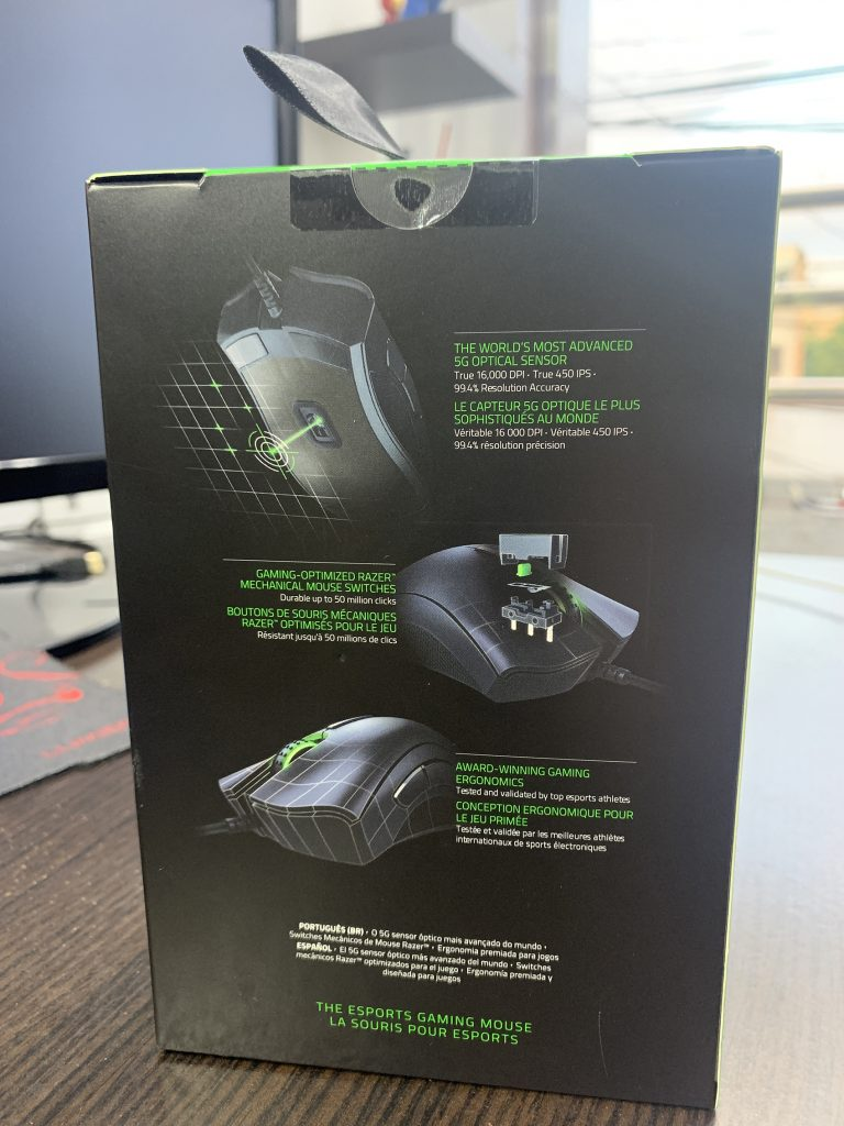especificaciones Razer DeathAdder Elite