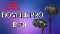 Unboxing y Revisión de Headset in-ear 🎧| Redragon BOMBER PRO E100