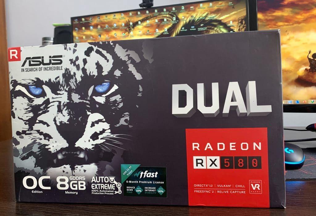 ASUS RX 580 Dual OC 8G