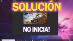 Solución Forza Horizon 4 (PC) NO INICIA