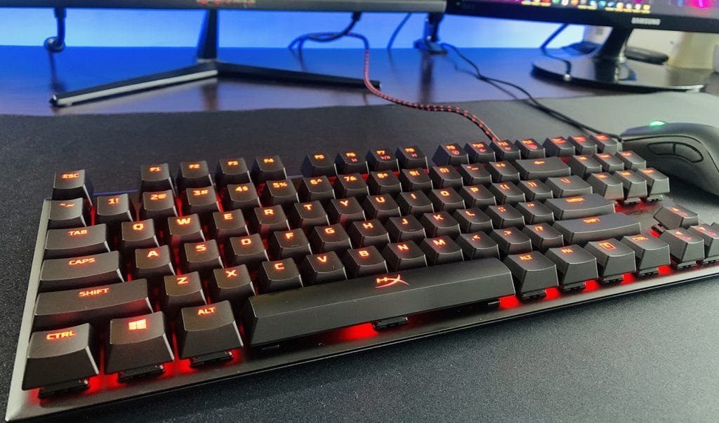 iluminación de HyperX Alloy FPS Pro