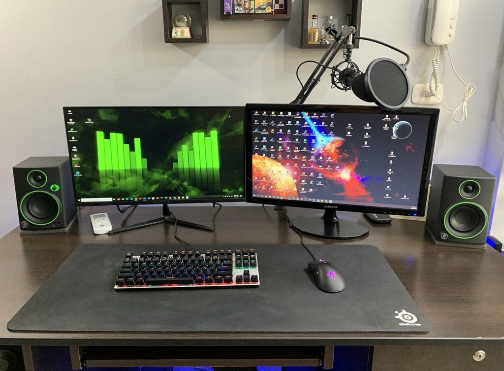 Monitor de Estudio Mackie CR3 setup