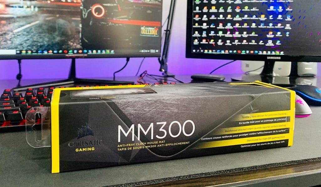 caja de Corsair mm300 900x300