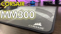 Review MOUSE PAD XL CORSAIR MM300 👉 Lo mejor para Gaming ?