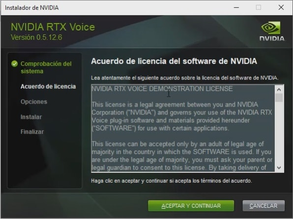 instalar rtx voice en gtx
